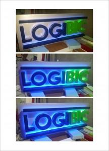 Casete luminoase logibic